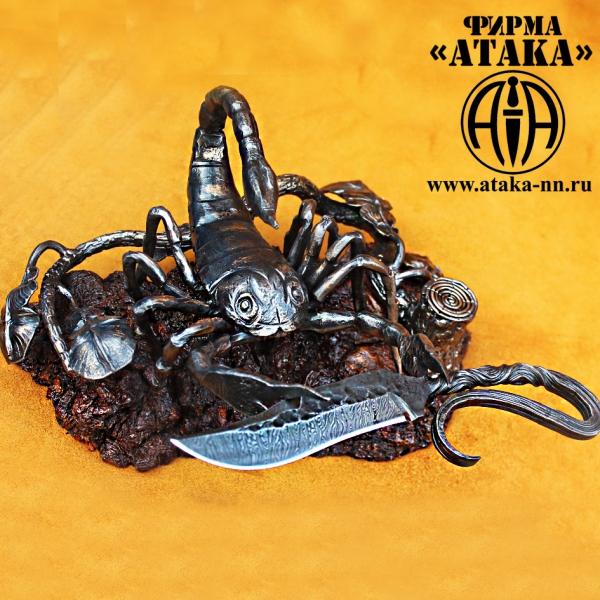 Изделие ручной ковки -  Подставка для ножа