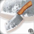 Нож Тяпка из кованой нерж. стали 95Х18 со следами ковки