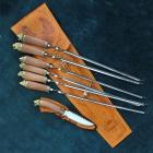 Шашлычный набор с ножом Арт. Ш-403