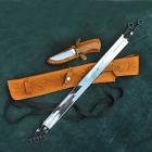 Шашлычный набор с ножом Арт. Ш-401